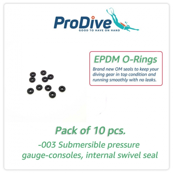 EPDM Scuba Diving O-Rings -003 SPG Swivel