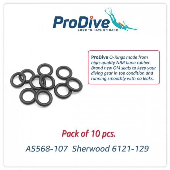Scuba Diving O-Rings  -107 Sherwood 6121-129