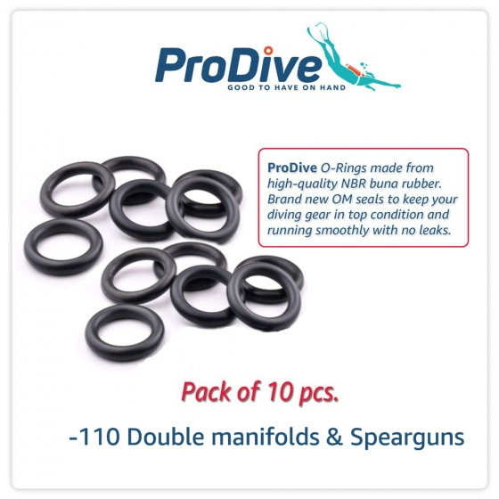 Scuba Diving O-Rings  -110 Double manifolds  Spearguns