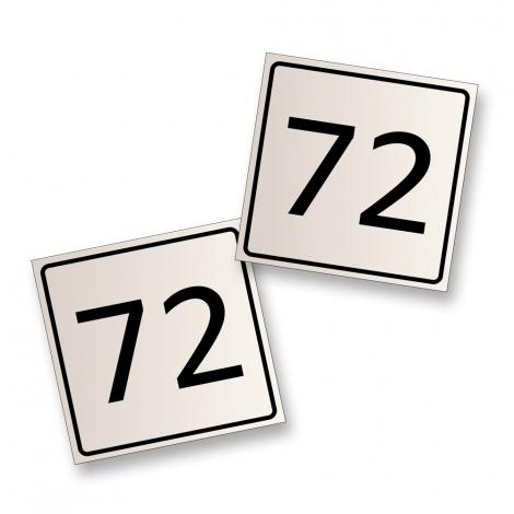 MOD Stickers - Metric (pair)