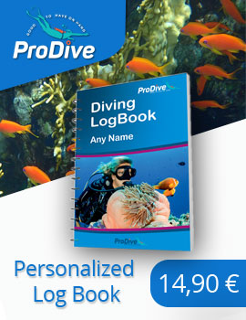 personalized scuba diving log book