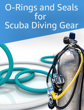 scuba diving o rings and gasket