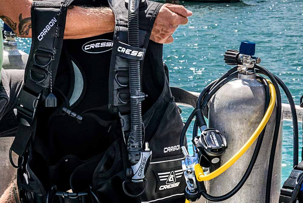 O-Rings in diving gear